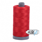 Aurifil 28 Cotton Thread - 2270 (Orangish Red)